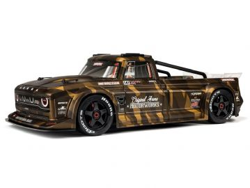 Arrma ARA109001 Infraction Street Bash 6S BLX AVC All-Road Resto-Mod Truck  Matte Bronze Camo 1/7th
